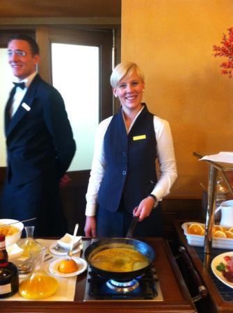 Brasserie Les Trois Rois: crepe suzette @brunch