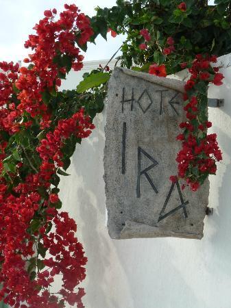 Ira Hotel & Spa: Gorgeous Ira sign