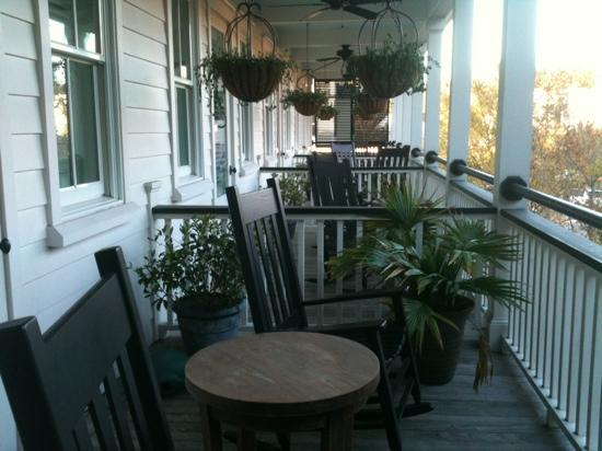 The Inn at I'On: rocking chairs