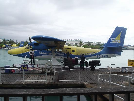 Reethi Beach Resort: Seaplane transfer from Male airport