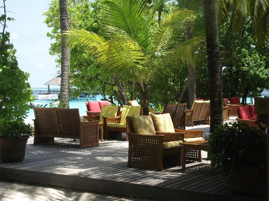 Reethi Beach Resort: Main bar