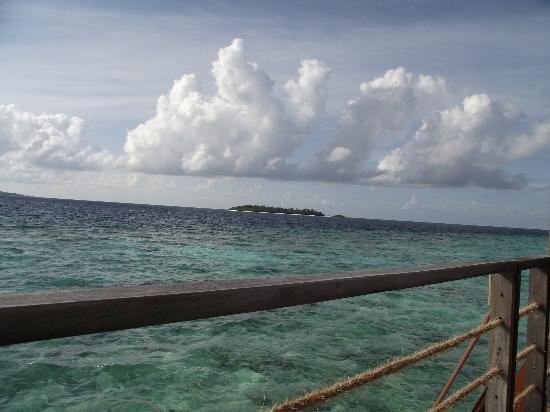 Reethi Beach Resort: view from water villas