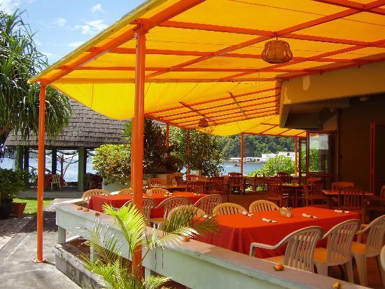Goat Island Cafe: Dining area