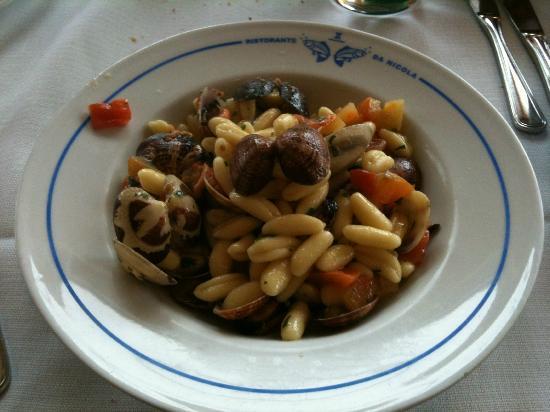 Da Nicola: 12 Euros worth of seafood pasta