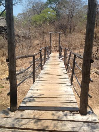 Bua River Lodge: Brigde to the Island lodges