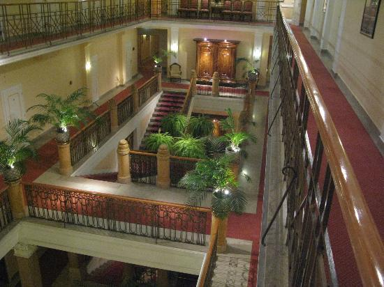 Hotel Sacher Salzburg: View from our door