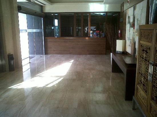 "Leflet Sanlucar Hotel: Recepción ""blindada"""