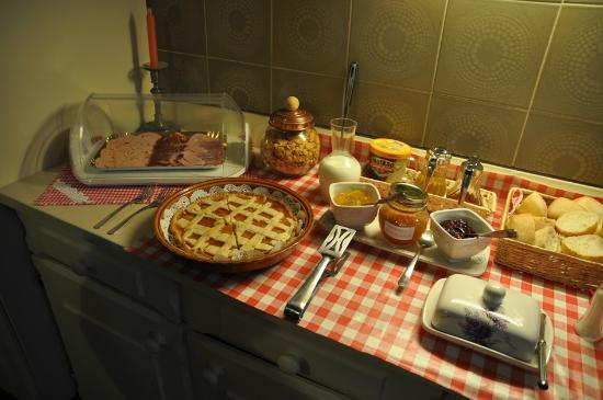 B&B Tempi Lontani : Excellent breakfast