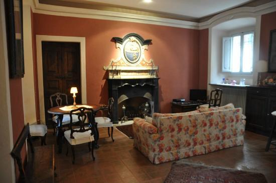 B&B Tempi Lontani: Beautiful sitting room