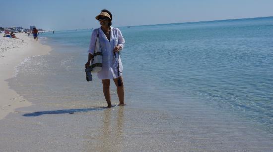 Pensacola Beach : Paseando por la playa