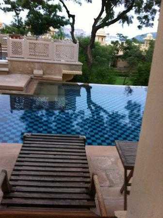 The Oberoi Udaivilas: En suite pool