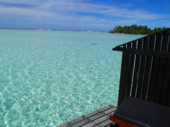 Cinnamon Hakuraa Huraa Maldives: terrasse