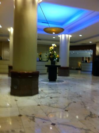 Le Meridien Parkhotel Frankfurt: Hotel mit schöner Eingangshalle - aber das wars.