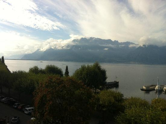 Grand Hotel du Lac: View from our balcony!