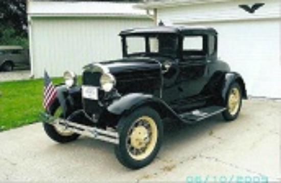 Fulton, MO: 1930 Model A Ford Coupe