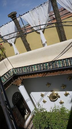Riad 41: 옥상에서 내려다 본 모습