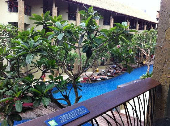 All Seasons Legian Bali: le balcon