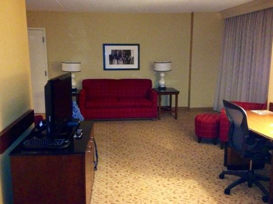 Marriott Pittsburgh Airport: Very nice rooms!