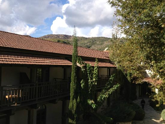 Ayii Anargyri Natural Healing Spa: View from our room