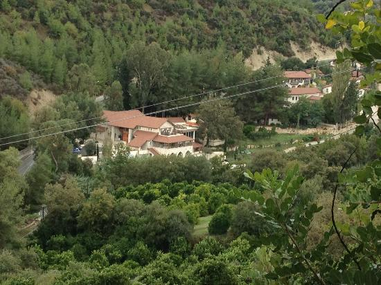 Ayii Anargyri Natural Healing Spa: From the hills above the hotel