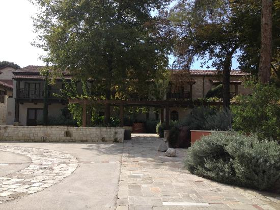 Ayii Anargyri Natural Healing Spa: Hotel grounds