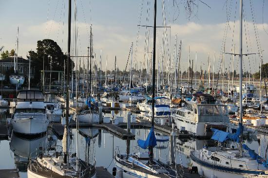 Motel 6 Oakland-Embarcadero: the view to the harbor