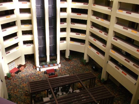 Hilton Phoenix/ Mesa: elevator/lobby