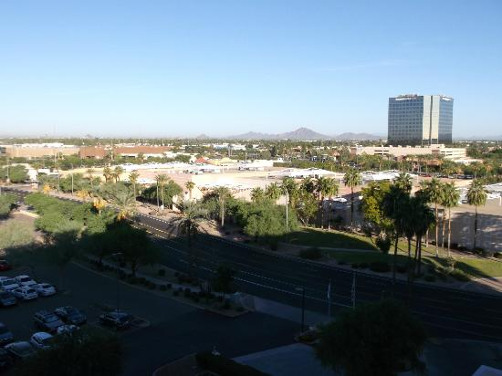 Hilton Phoenix/ Mesa: view from room