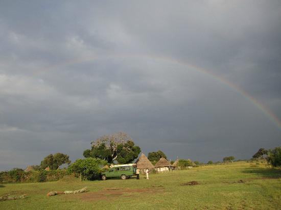 Mara West Camp: After the rain and on to a beautiful day at Mara West