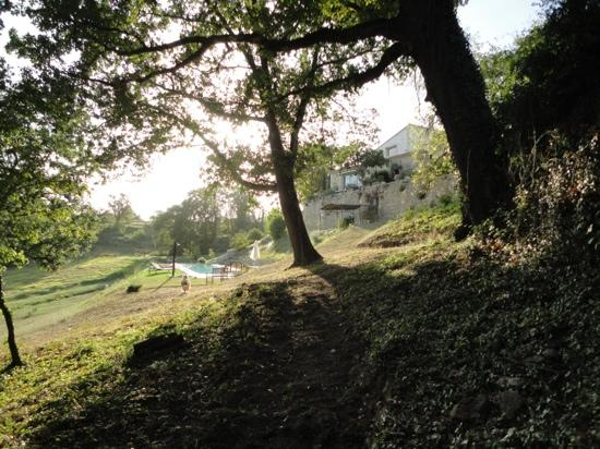 Maison D'hotes Bordeaux Saint Emilion : Villa Beylie : Vue de la propriété Villa Beylie