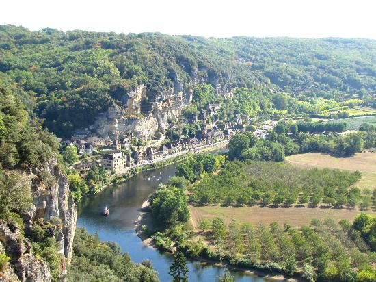 Vezac, Frankreich: La Roque Gageac from the Belvedere