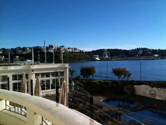 The Grand Hotel: the view from room 114 on 04/11/12