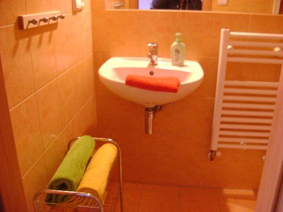 Aparthotel City 5: particolare del bagno