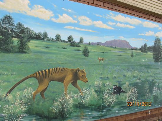 Tasmania I Drive: mural