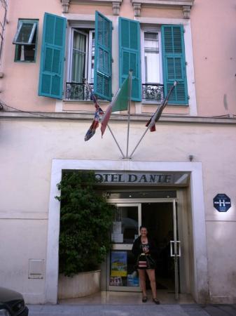 Hotel Dante: entrada