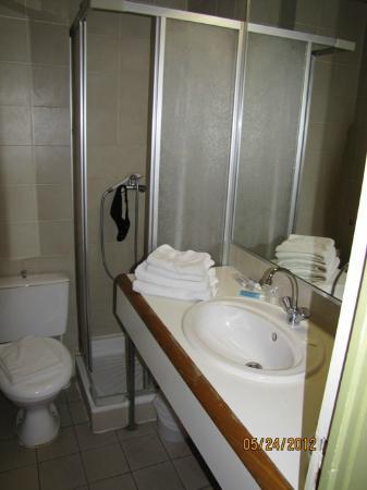 Hotel Dante: baño