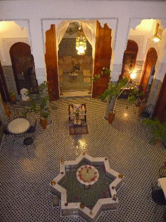 Dar Al Safadi: Cour intérieure slpendide
