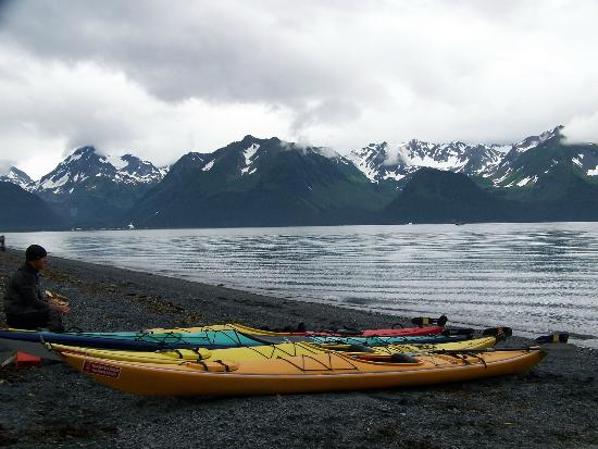 Alaska Paddle Inn: View of Resurrection Bay