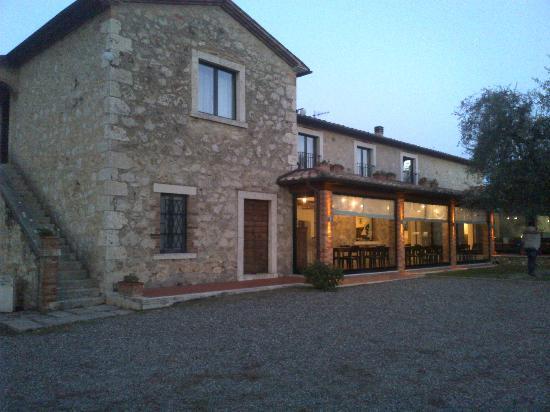 Villa Acquaviva: Vista della sala colazioni