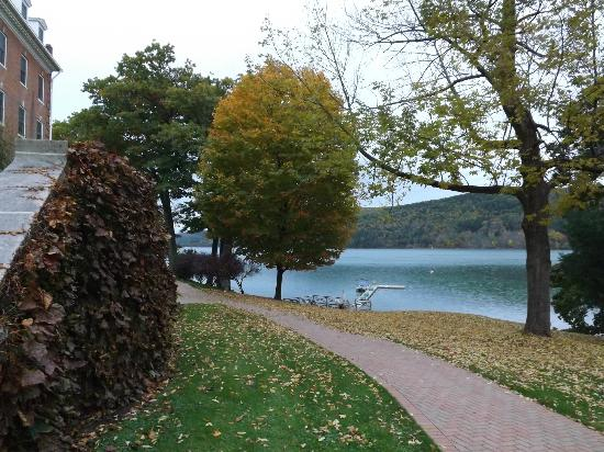 The Otesaga Resort Hotel: View from the front
