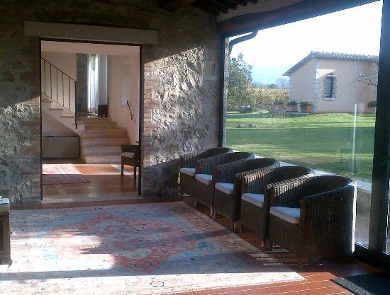 Villa Acquaviva: parte della reception