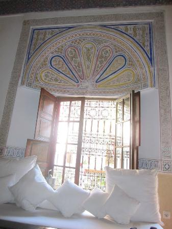 Riad El Zohar: Reception room