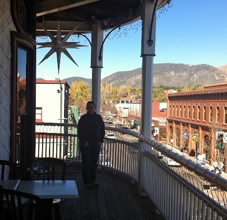 Weatherford Hotel: Great view of historic Flagstaff