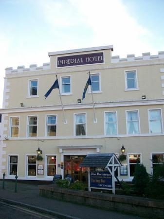 Imperial Hotel: front of hotel