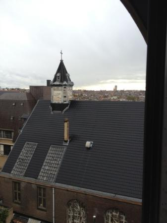 Sofitel Brussels Le Louise: view from my room