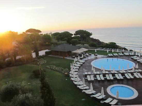 Grande Real Santa Eulália Resort & Hotel Spa: Glorious sunrise (and sunsets!) from our balconies