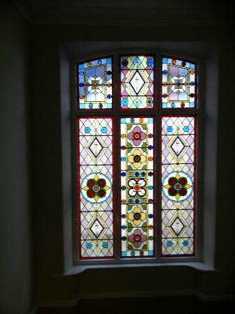 Merchant House : Stunning Stained Glass Window