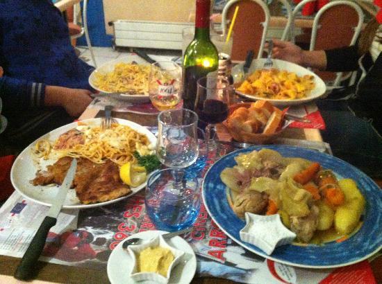 Chez Italo: Notre Tablée le 31.10.2012