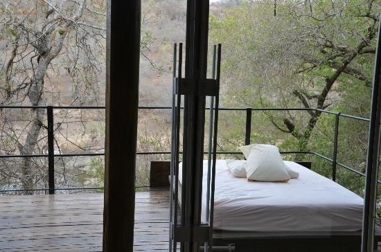 Singita Sweni Lodge: For sleeping out at night or napping during the day