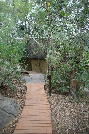 Pondoro Game Lodge: Pondoro Lodge Walk Way